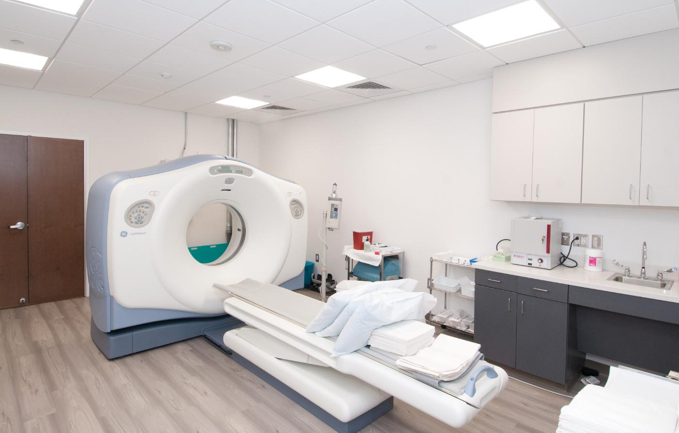 CT Scan Room Landscape